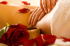 Massage Red Flowers