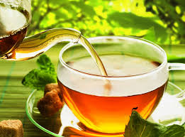 Green tea and pot