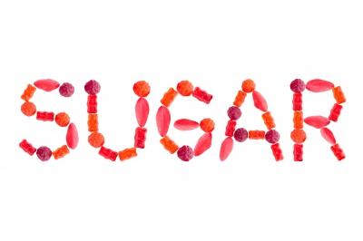 sugar in lollies