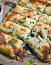 cauliflower cheesey bread