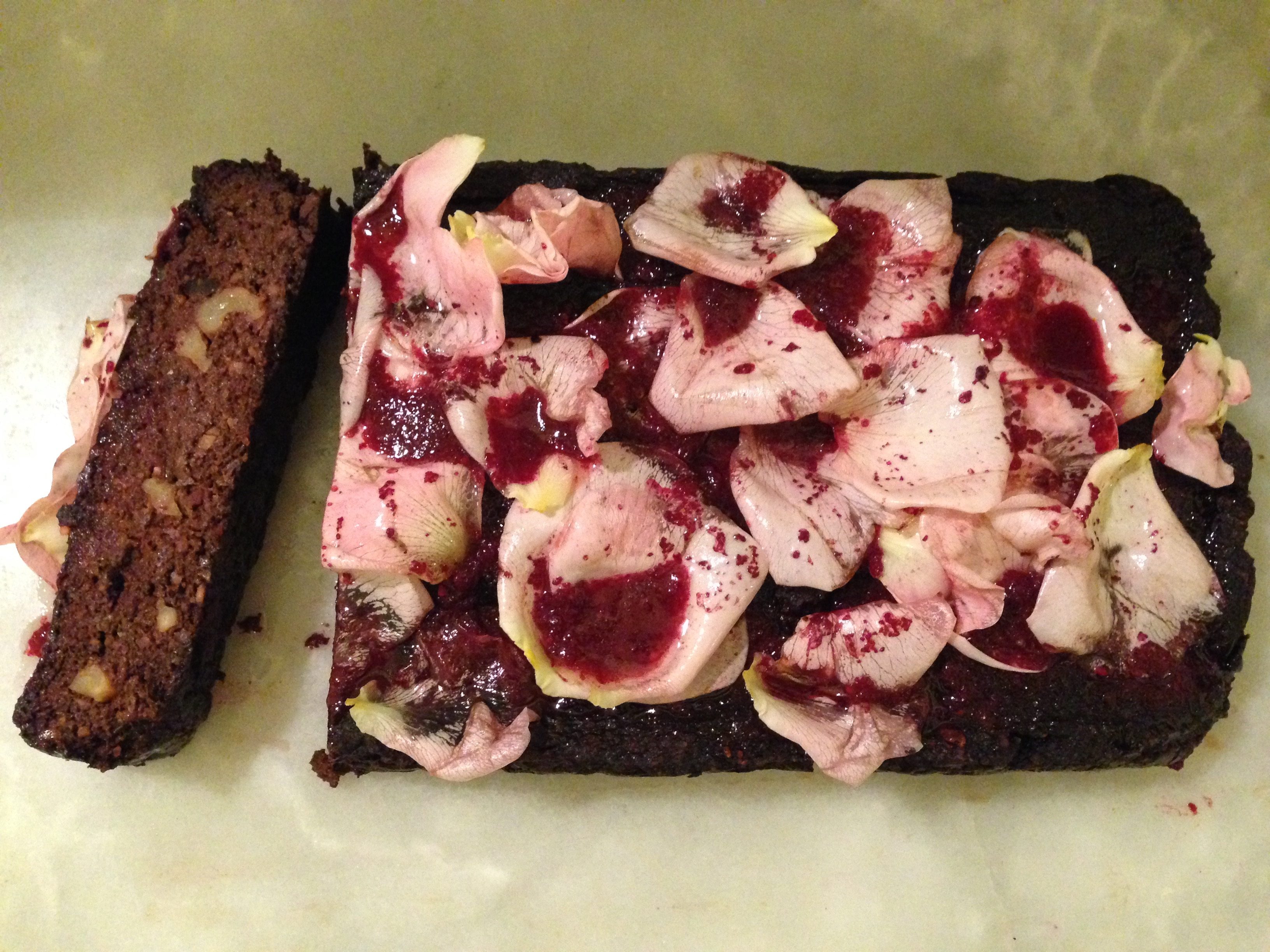 Beetroot, Banana Brownie